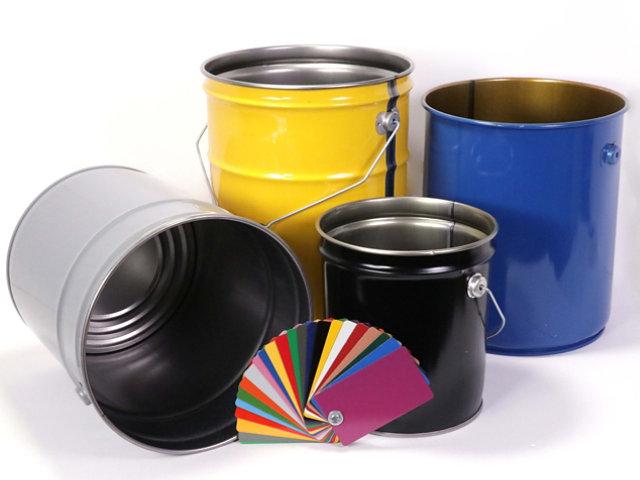 Drum, Pail, Paint can