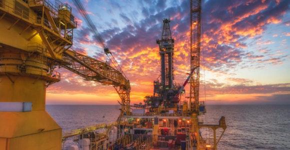 below ground oil & gas pipeline