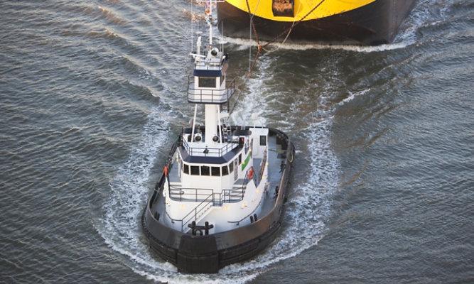 marine inland barge tugboat