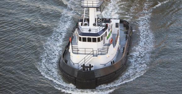 government marine vessel in ocean