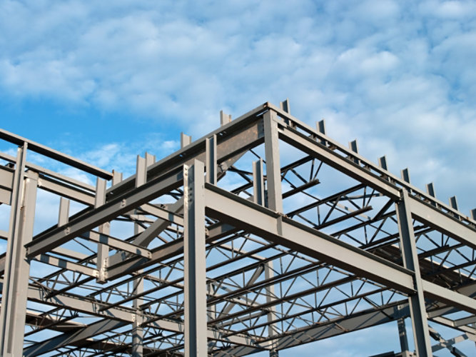 Fire protection for steel structures