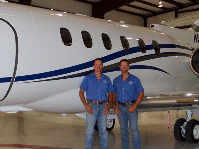 Hawker 900XP - Patrick and Michael Corrigan