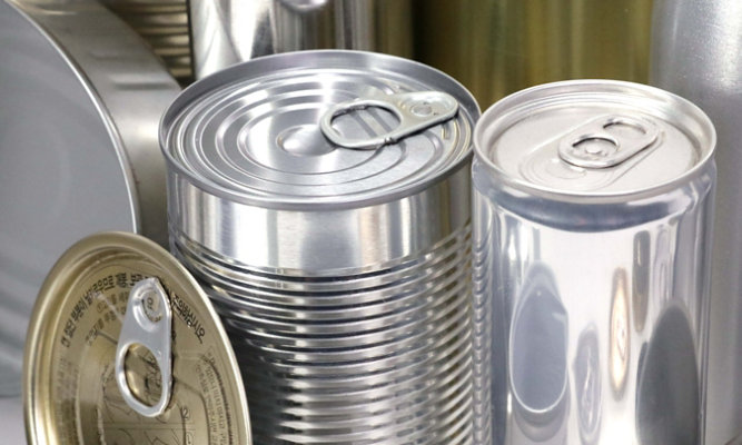 food and beverage can and end
