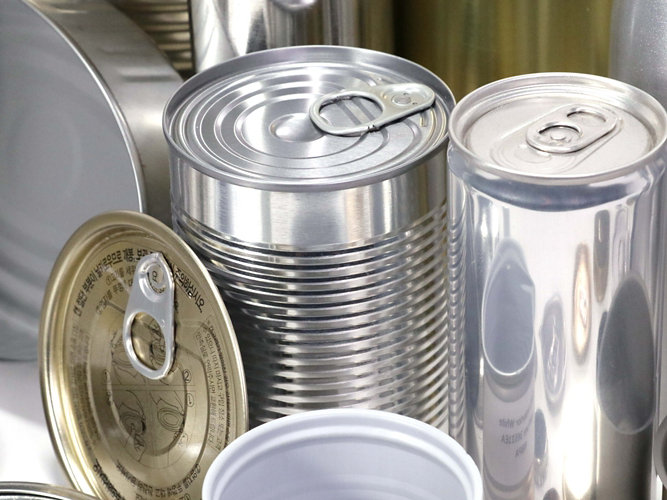 food, beverage and can lid