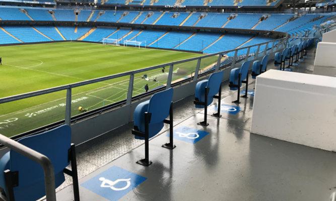 Etihad Stadium installed with Resuflor HB