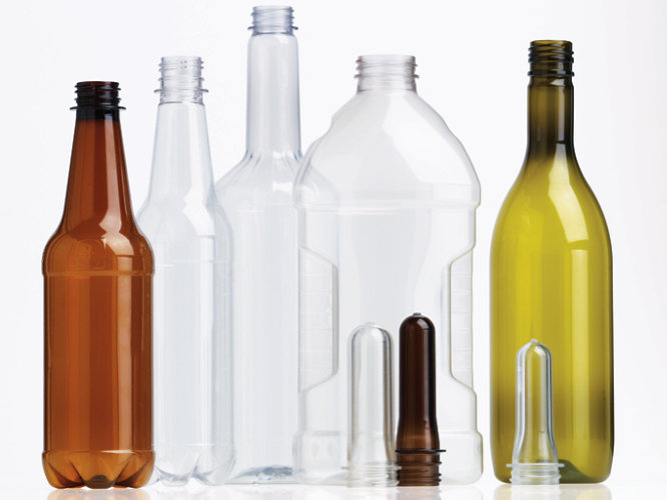 plastic beverage bottles and preforms