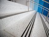 Terrazzo floor at arena