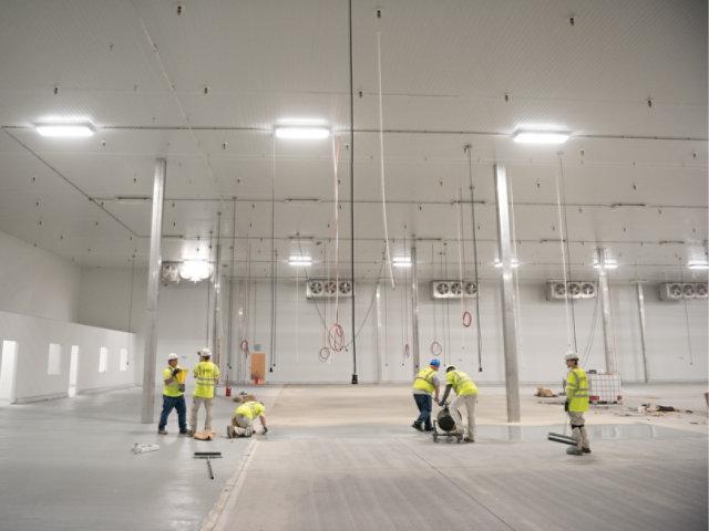 floor coating application