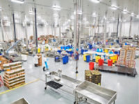 Resinous Floor in Food Processing Facility