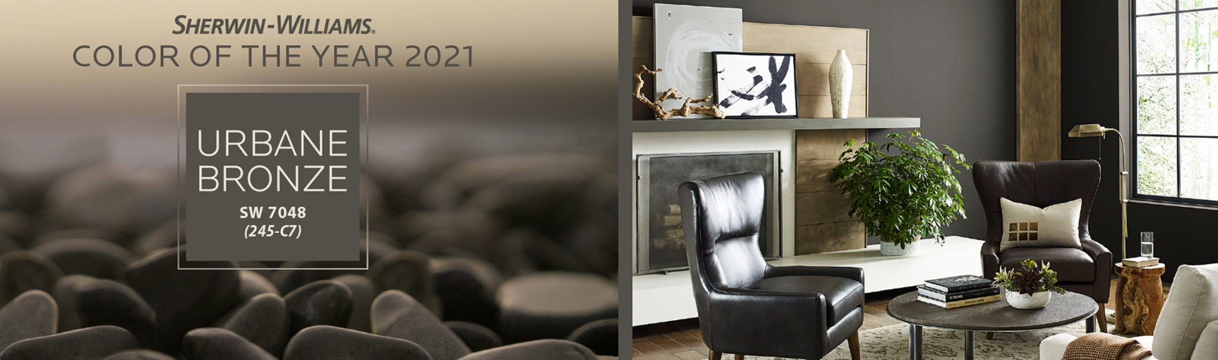 Color of the year image Urbane Bronze