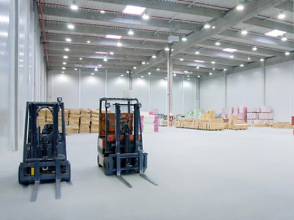 Resinous Floor in Manufacturing Facility