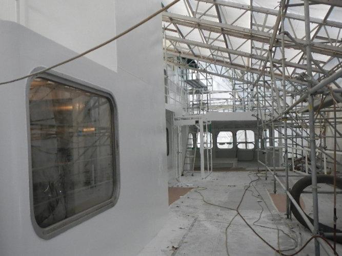 Coating preservation to the M/V Kaleetan passenger ferry