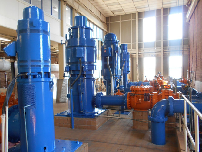 Water Treatment Plant Pipe Gallery Restoration