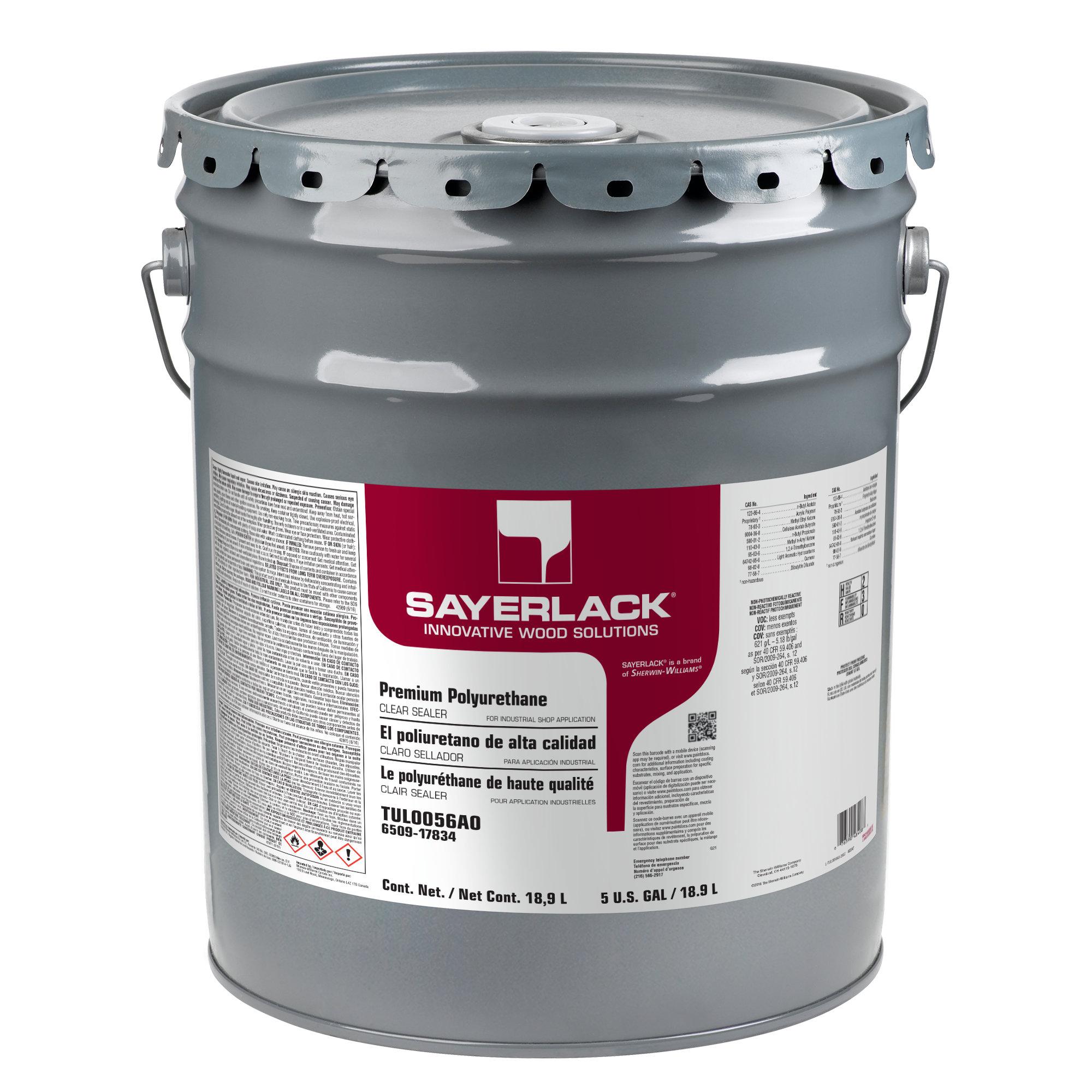 Sayerlack Premium Polyurethane Clear Sealer Sherwin Williams
