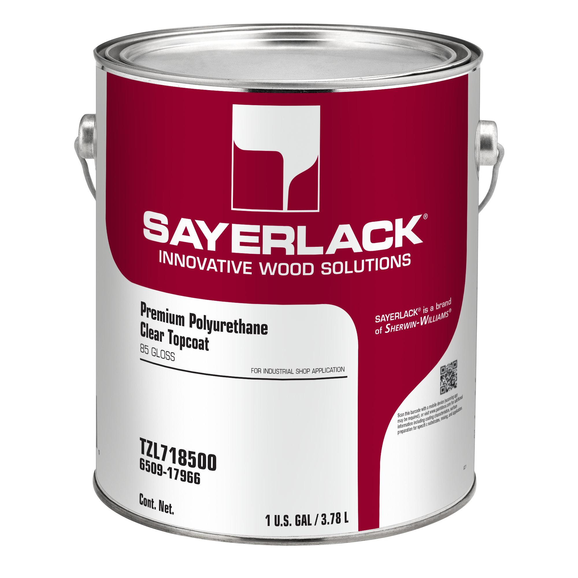 Sayerlack Premium Polyurethane Clear Topcoat