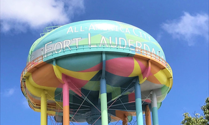 Fort Lauderdale Elevated Water Tank