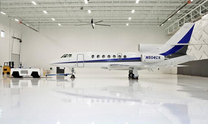 Best Jets Hangar Flooring