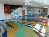 Resinous Floor in lobby