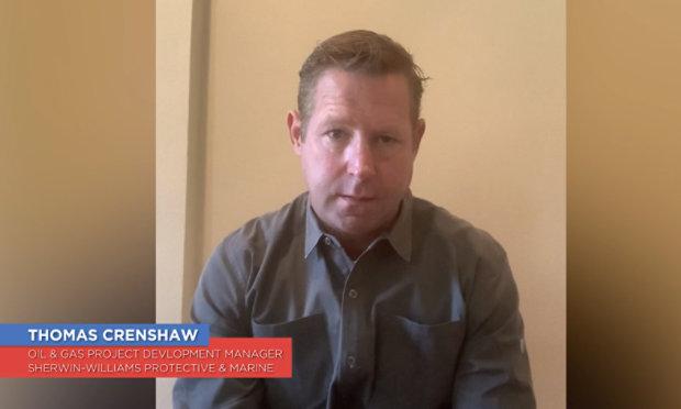 Video still of Thomas Crenshaw