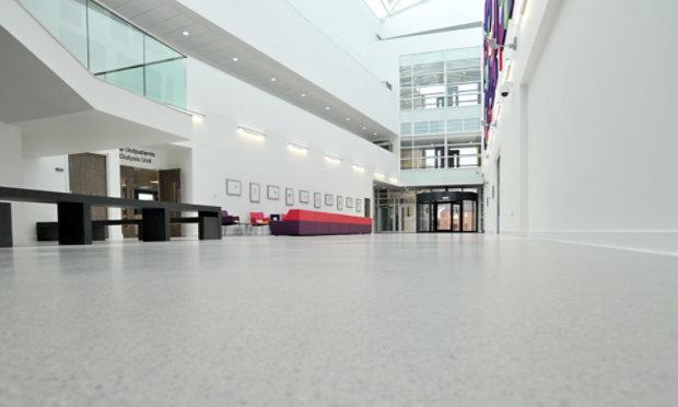 Resinous Floor in Hospital