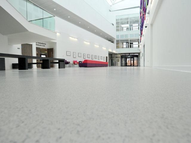 Resin Floor in Hospital