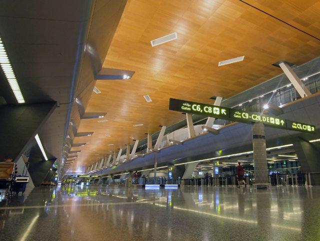 Resin Floor in Airport Terminal