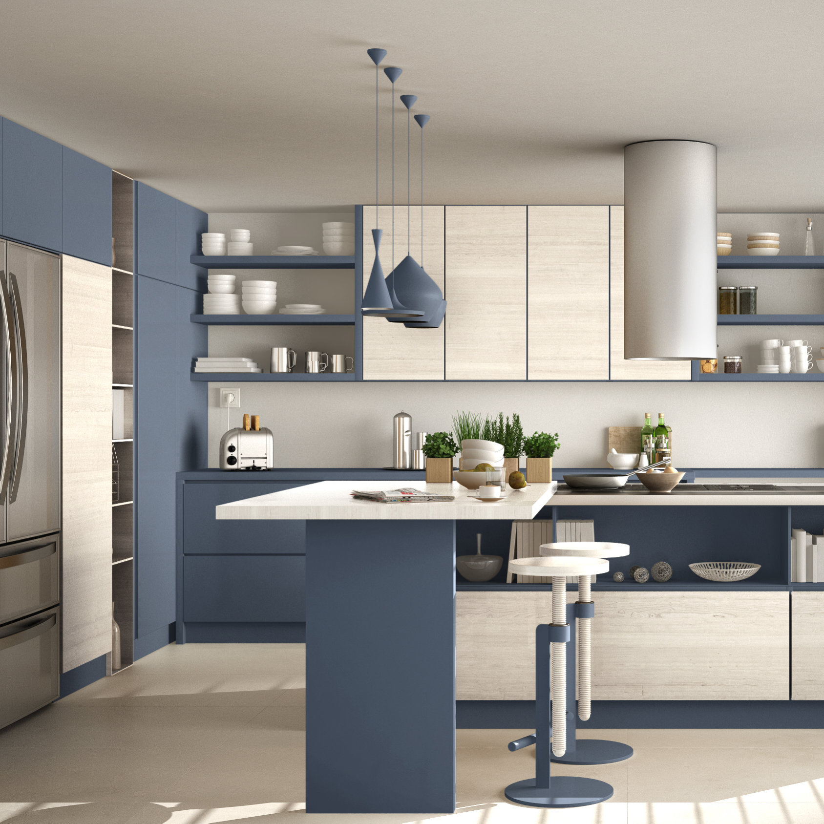 Kitchen Cabinetry Trends Industrial Wood Coatings