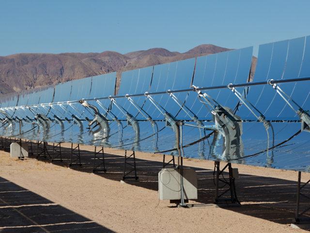 Campo de espejo solar
