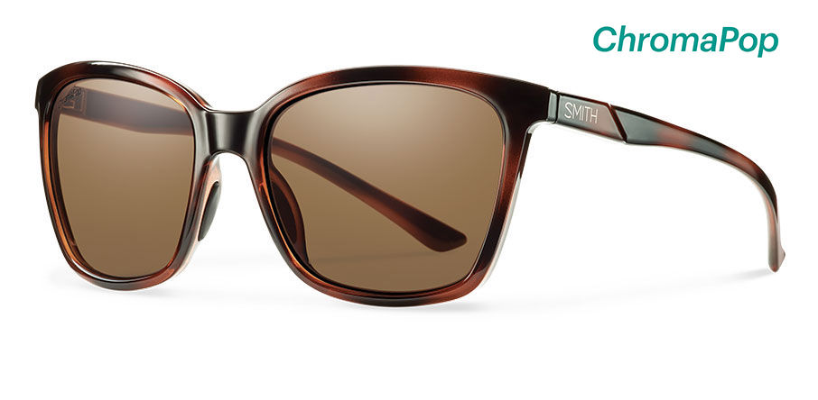 Womens Rod Mirrored Sunglasses, Dark Brown, 52 New Look