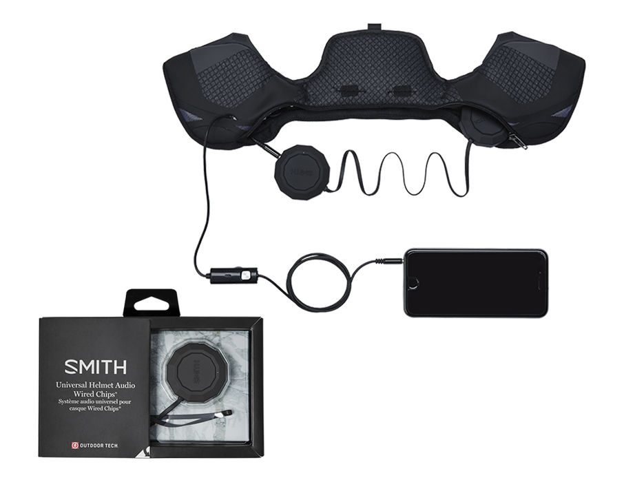 Smith Outdoor Tech Wired Audio Chips Helmet Accessories Men\'s: Smith ...