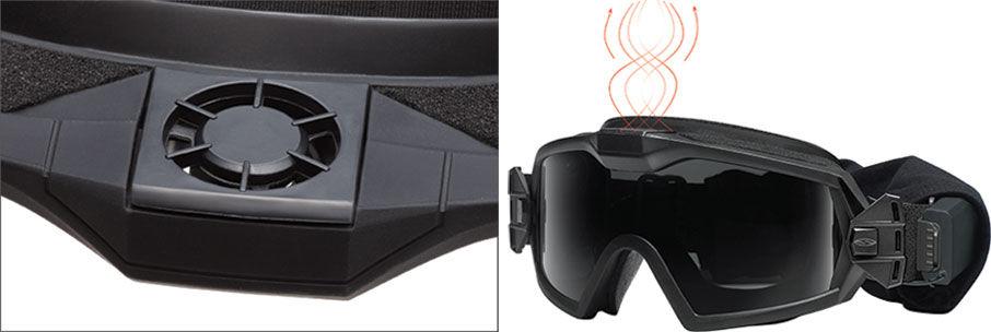 ee0d33dec73b7 SILENT TURBO FAN TECHNOLOGY. Smith took proprietary Turbo Fan goggle ...