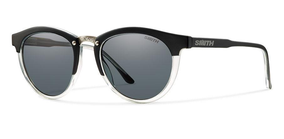 ec2712fada Smith Optics   Questa Matte Black Crystal Polarized Gray
