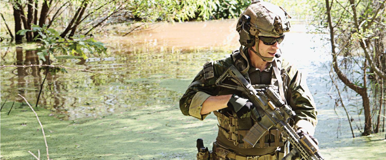 efe23e18fa Soldier in Smith Elite Sunglasses