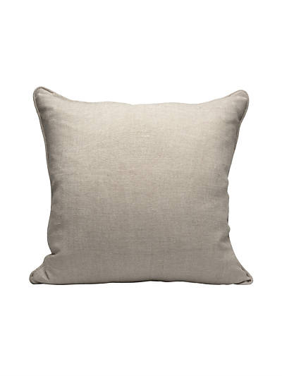 WHITBY PILLOW GREIGE