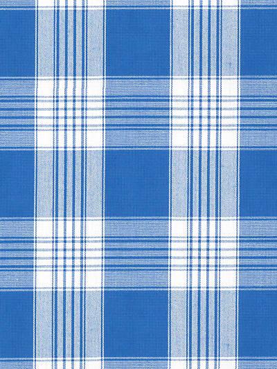 POKER PLAID BLUE