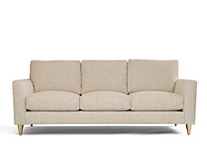Bond Sofa With Brass Legs