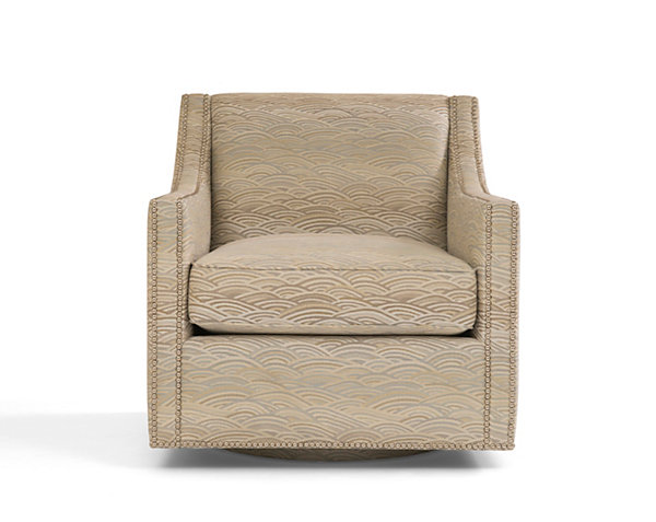 Oxford Swivel Club Chair