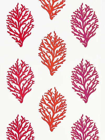 CORAL REEF EMBROIDERY PASSION FRUIT