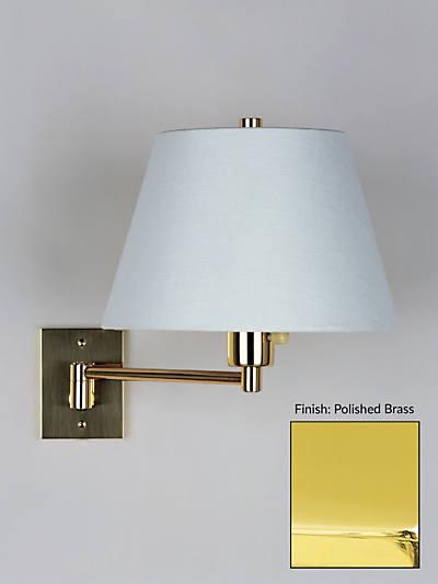 HANSEN SGL SWING-ARM WALL LAMP