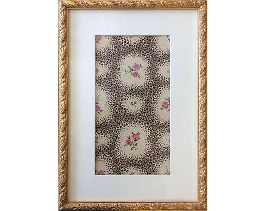 The original Leopard Rose drawing