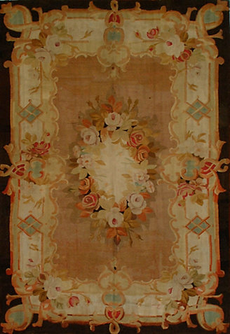 AUBUSSON ANTIQUE              -aub-34245