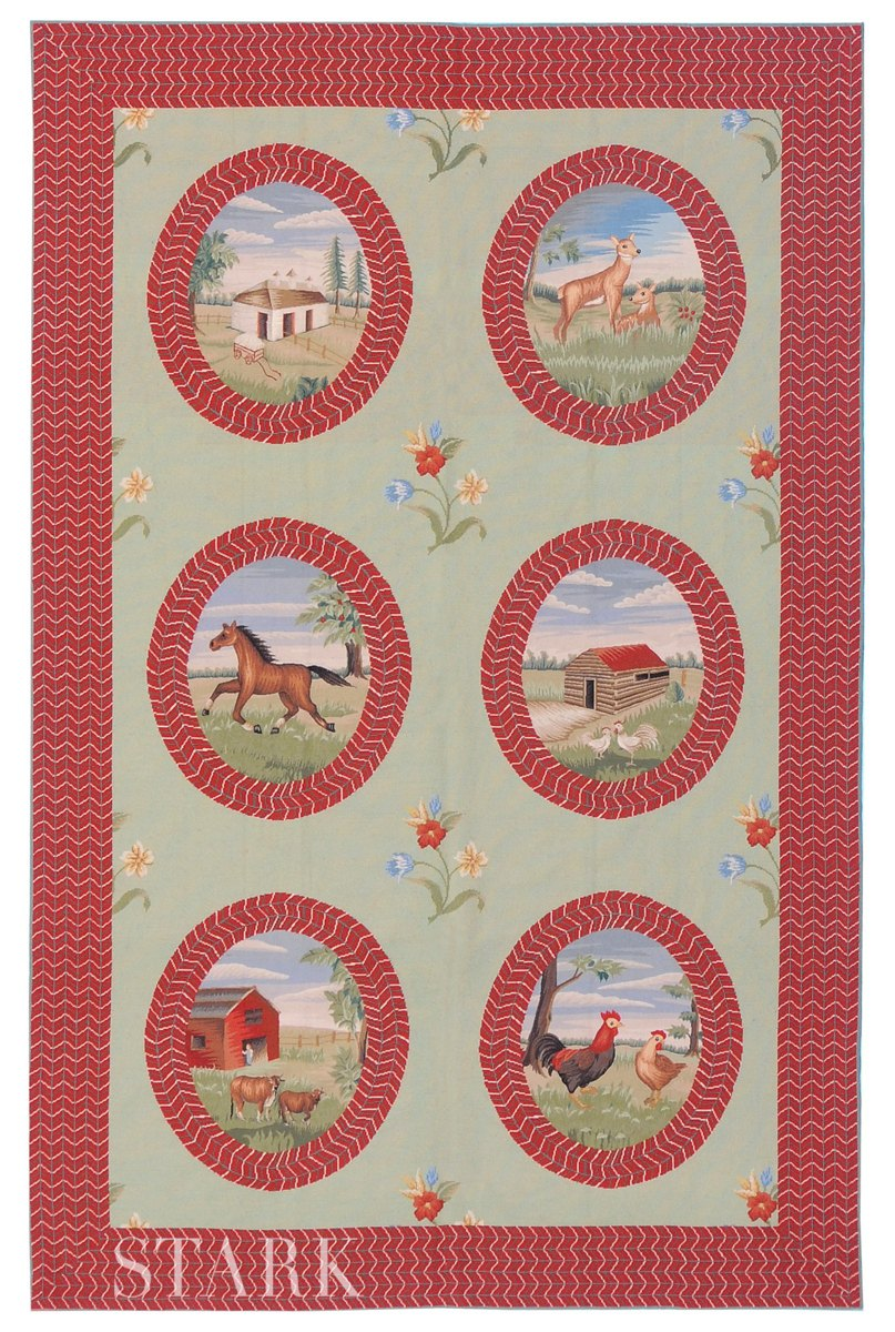 CHINESE NEEDLEPOINT-cnp-41221a