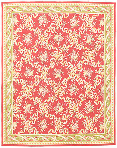 EMBROIDERED AUBUSSON          -eaub-52319a