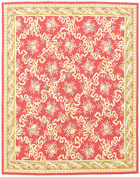 EMBROIDERED AUBUSSON-eaub-52319a