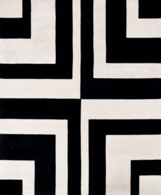 DECO CUBE MARBLE - BLACK (550)