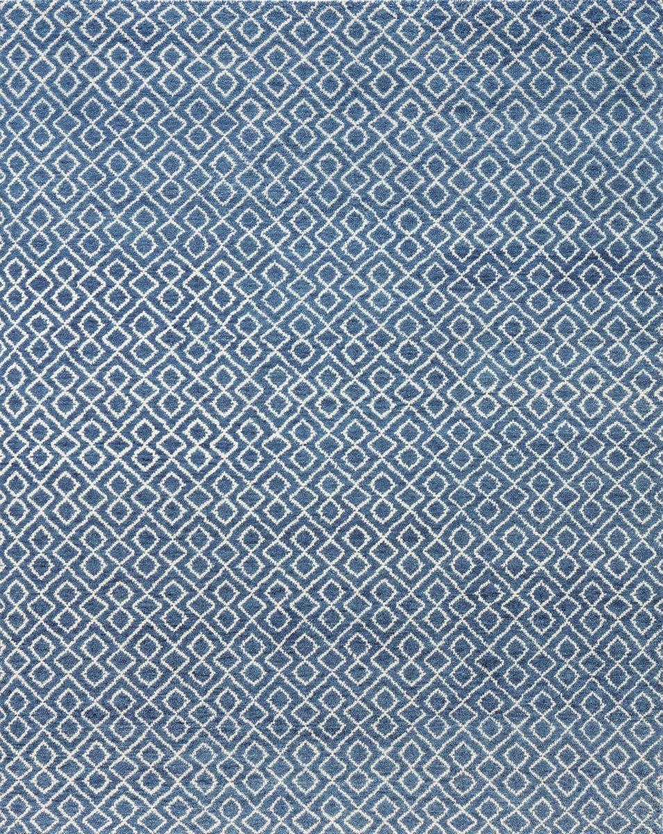 DIAMONDS BLUE/WHITE