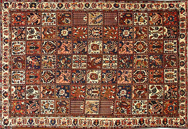 ORIENTAL BAKHTIAR SEMI ANTIQUE-ori-16043