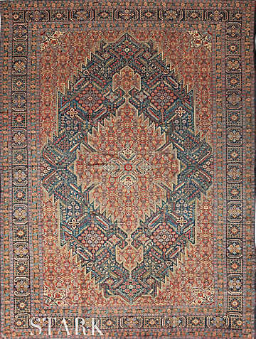 ORIENTAL TABRIZ SEMI ANTIQUE  -ori-23810