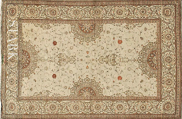 ORIENTAL KASHAN SEMI ANTIQUE  -ori-23811