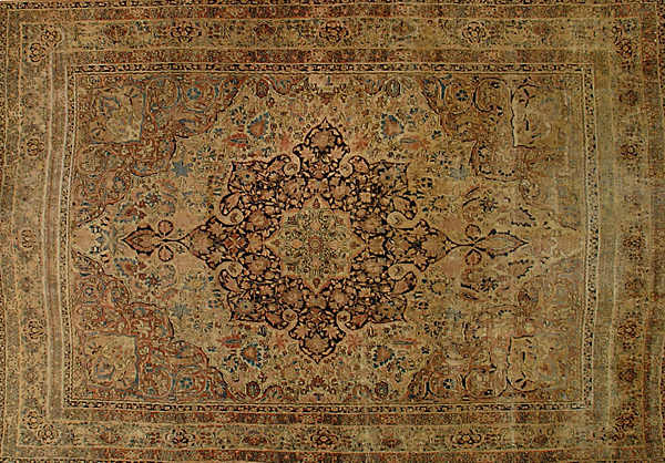 ORIENTAL LAVAR KERMAN ANTIQUE -ori-25236